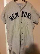 1969 Ny Yankees John Cumberland Signed Game Used Flannel Jersey And Pants Nyy Coa