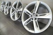 Audi A7 S7 Rs7 4k A8 S8 D4 D5 Original 21 Inch S-line Alloy Wheels 4g8601025an