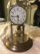 W Germany 400 Day Anniversary Mantle Windup Clock 12