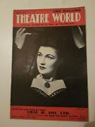 Theatre World Magazine - May 1947 - Scenes Of The Eagle Has Two Heads And More.