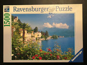 Ravensburger Jigsaw Puzzle 'lake Maggiore Italy' 1500 Pc Germany 2008 Pre-owned
