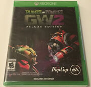Plants Vs. Zombies Gw2 Deluxe Edition Xbox One Video Game - Sealed Brand New