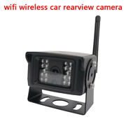 Car Wifi Wireless Rear View Cam Backup Reverse Camera For Andriod Ios System New