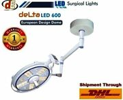 Led 600 Surgical Lights Operation Theater Ceiling/ Wall Mount Uv And Ir Rays @d5