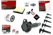 Tune Up Kit 2008-2009 Lincoln Mkx 3.5l V6 Heavy Duty Ignition Coil Dg520 Sp411