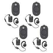 4 Motorola Clp1060 Business Two-way Radios With Bluetooth 6 Channel 1 Watt