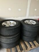 Rim Tires, Jeep Wrangler, Silver, Used Parts, Auto, Car, Vehicle,