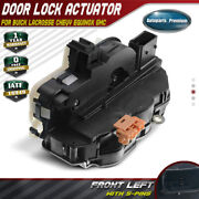 Door Lock Actuator Front Left For Chevy Gmc Buick Lacrosse Cadillac Srx 931-314
