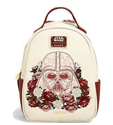 Loungefly Star Wars Darth Vader Floral Mini Backpack - Boxlunch Pre Order