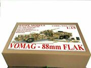 Vomag 88 Mm Flak Wespe Models 115 Mobile Anti Aircraft Cannon Resin Kit 15003