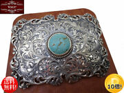 Vogt Silversmith Handmade Louisa May Filigree Trophy Silver Buckle