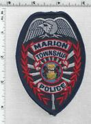 Marion Township Police Pennsylvania 3rd Issue Shoulder Patch