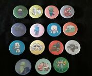 37mm Pin Badge Button Mine Craft Inspired Pig Cow Slime Witch Dogs Golem Zombie