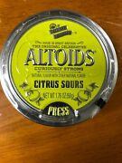 Candy Shakes Freely Altoids Citrus Sours 1 Sealed Tin Very Rare