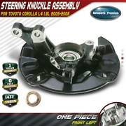Wheel Bearing Hub Knuckle Assembly For Toyota Corolla 1.8l 2003-2008 Front Left