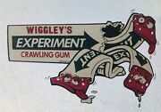 Vtg 70s Wrigleys Gum Topps Wacky Packs Packages Put-ons T-shirt Iron-on Wax Pack