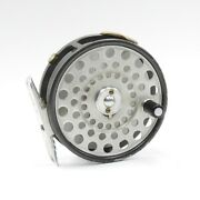 Hardy Lightweight Fly Reel. L-shaped Line Guide And Ribbed Foot.