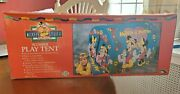 Vintage Disney Mickey Mouse Summer Play Tent 1990s - Ero Inds. Factory Sealed
