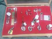 Model A Ford Parts- Some Restored, Some Plated 1929 1929 1930 1931 Display Box