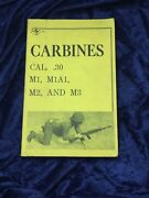 Circa 1964 Carbines U.s. Army Field Manual Naked Eye Antiques And Collectibles