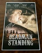 C Thomas Howell Signed Deadman Standing 12x18 Movie Poster
