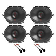 Jbl 2-way 6x8 Front/back Door Truck Speaker Adapter For Ford F-150 1999-2014