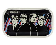 Rock Legends Beatles Fab 4 Rolling Tray Medium 10.5 Inches By 6.25 Inches