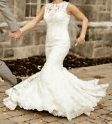 Rare Find Allure C311 Bridal Gown Wedding Dress Preserved Veil Included