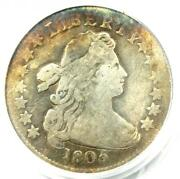 1805 Draped Bust Dime 10c - Pcgs Genuine Plugged - Rare Coin - Fine Details