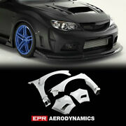 Var Style Frp Unpainted Fit For Subaru Grb Gvb Wide Body Front Fender