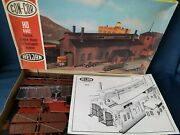 V. Rare Con-cor/ Heljan B842 Large Engine Shed Unmade Kit Appears Complete Boxed