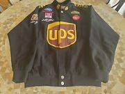 Nascar Ford Coke Ups Jacket Size M. 88 Button Front. Hase Authentic