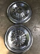 1965 65 1966 66 Ford Fairlane Galaxie Hubcaps Wheelcover Oem 1967 Vintage Fomoco