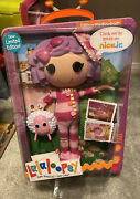 """Lalaloopsy Sew Limited Edition Full Size 12"""" Pillow Featherbed Doll Rare"""