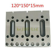 1pc 120x100x15mm Wire Cutter Cnc Edm Fixture Board Stainless Steel Jig Tool New