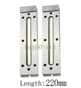 2x Wire Edm Fixture Board Stainless Jig Tool For Clamping And Leveling 220x50x15