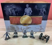 Conté Collectibles American Civil War Toy Soldiers And Cannon 130 Scale, 2001