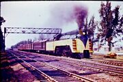 Kodachrome Original Slide Chicago And North Western 4-6-2 Pacific 1617 Cc1221