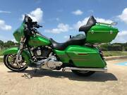 Radioactive Green King Tour Pack Pak For Harley Street Road Electra Glide 97+