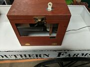 Antique Incubator Incubating/hatching Chicken Quail Egg Turn Working