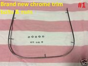 Brand New Chrome Trim, Bolts And Nuts For Honda Ct90 1972-1979 Seat /saddle