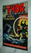 Thor 134 Nm+ 9.6 Ow Pages 1966 Marvel 1st High Evolutionary 1st Man-beast