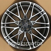 20 New Staggered Gray Wheels Rims Fit 2020+ Bmw X5 G05 X6 G06 5x112