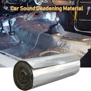 Car Insulation Sound Deadening Heat Shield Thermal Noise Proof Mat 80and039and039x 39and039and039