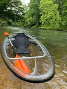 Clear / Transparent Canoe/kayak 11and039 Long 3and039 Wide By Cypress Rowe Outfitters
