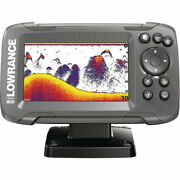 Lowrance Hook2-4x Gps Fish Finder With Bullet Transducer Depth And Shallow Alarm