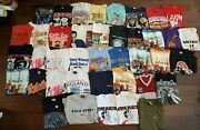 40 Mixed Lot Of T-shirt Vtg 80s 90and039s 2000and039s Bundle Wholesale Mixed Sizes Tees