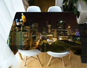 Rotating Light 3d Tablecloth Table Cover Cloth Rectangle Wedding Party Banquet