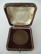 Usa Civil War Era N.y. Veteranand039s Medal. Named And Numbered 175. Cased. Rare