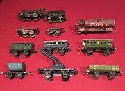 Marklin O Gauge Engine And Rolling Stock Lot